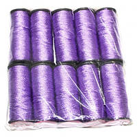 Нить обувная капроновая 375 текс (фиолетовый)