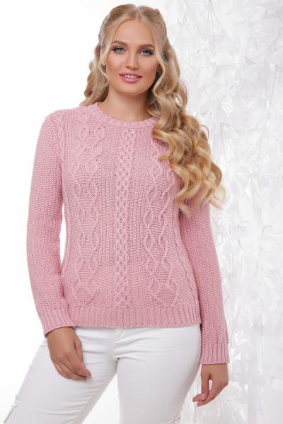 Вязаный свитер большого размера 48- 54 размера