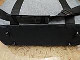 Спортивная дорожная сумка reebok мессенджер 300D стильный только оптом, фото 5
