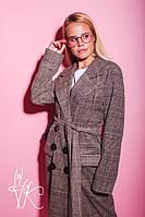 Женское кашемировое пальто оверсайз с накладными карманами 60PA103, фото 1