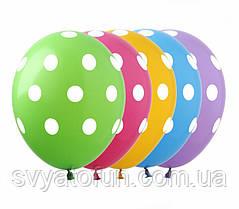 """Латексные шарики """"Горошек ассорти"""", (20 шт/уп), GR-5, ArtShow"""