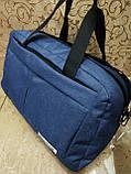Спортивная дорожная сумка reebok мессенджер 300D стильный только оптом, фото 2