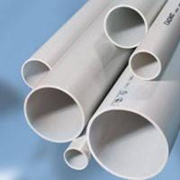 Труба ПВХ жёсткая гладкая d20 мм лёгкая 3м цвет серый