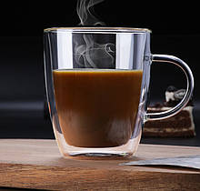 Чашка з подвійними стінками, 300 мл