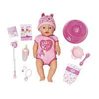 Кукла Baby Born Очаровательная малышка 43 см Zapf 824368 (Мягкотелая - Нежные объятия)
