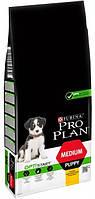 Сухой корм Purina Pro Plan Dog Medium Puppy с высоким содержанием курицы  12 кг