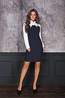 Женское платье офисное для работы (есть норма и батал размеры)