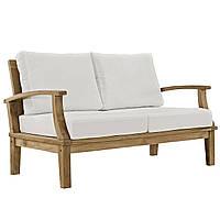 Садовый диван из дерева тика, фото 1