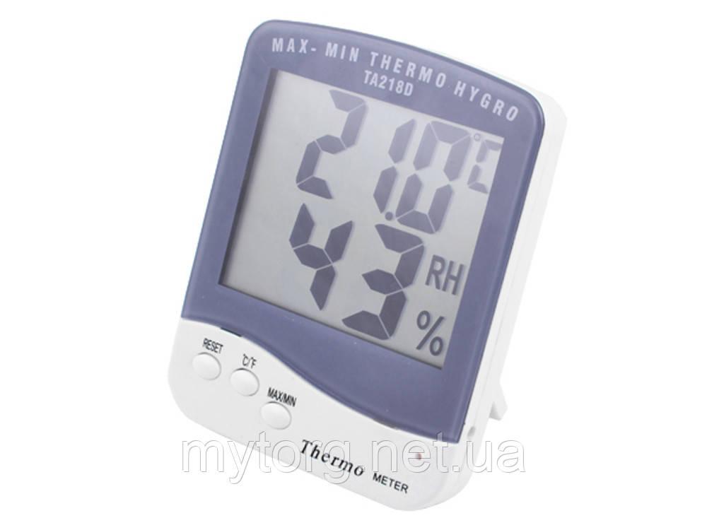 Термометр с гигрометром TA-218D