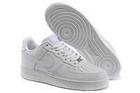 Женские кроссовки Nike Air Force Low White  низкие