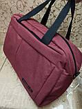 Спортивна дорожня сумка reebok месенджер 300D стильний тільки оптом, фото 2