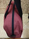 Спортивная дорожная сумка reebok мессенджер 300D стильный только оптом, фото 3