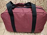 Спортивная дорожная сумка reebok мессенджер 300D стильный только оптом, фото 4