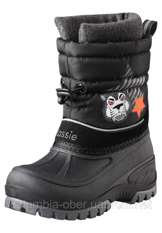 Зимние сапоги - сноубутсы для мальчика Lassie 769121-9990. Размеры 24-35.