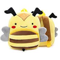 Рюкзак велюровый Bee with Wings Berni