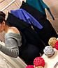 Женское трикотажное платье на запах в расцветках. Д-24-0918 (023), фото 5