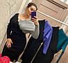 Женское трикотажное платье на запах в расцветках. Д-24-0918 (023), фото 7
