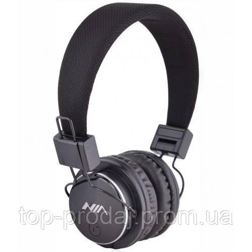 Наушники MDR NIA X2 + BT, Беспроводные наушники с MP3 плеером, Блютуз наушники, Беспроводная гарнитура