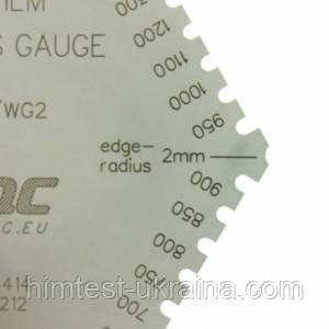 Толщиномер влажного слоя (гребенка) для защитных покрытий и покрытий с высоким содержанием твердых частиц