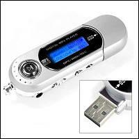 Цифровой mp3 player usb fm voice recorder, поддержка misrosd до 8 гб, жк-дисплей, наушники, качественный звук