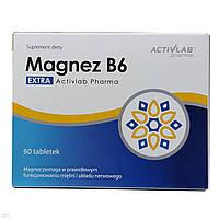 Витамины и минералы Activlab Magnez B6 (60 tabs)