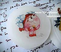 Мыло с картинкой на водорастворимой бумаге, с героями наших любимых малышей!