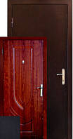 Бронированная дверь Zimen  Z-06 Венге Темный (960) L 1 контур