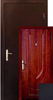 Бронированная дверь Zimen  Z-06 Венге Темный (960) R 1 контур