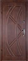 Бронированная дверь Zimen  Викинг Темный Орех (960) L 1 контур