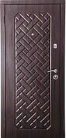 Бронированная дверь Zimen  Агата Темный орех (960) L 2 контура