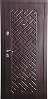 Бронированная дверь Zimen  Агата Темный орех (960) R 2 контура