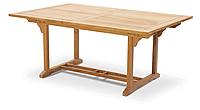 Стол прямоугольный раскладной DELI из тика, фото 1