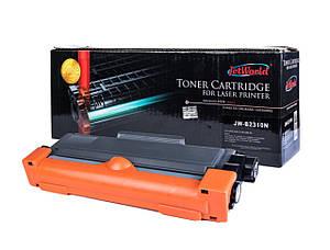 Картридж Brother TN2310 (TN-2310) аналог совместимый с тонером (1200 копий) JetWorld