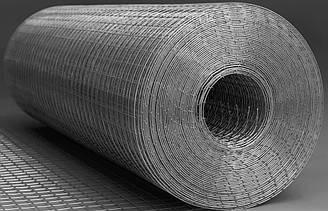Сетка сварная оцинкованная Ремис с ячейкой 25 x 25 мм (0,7 мм)