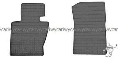 Коврики резиновые в салон BMW X3 (E83) 04-  2шт.Stingray