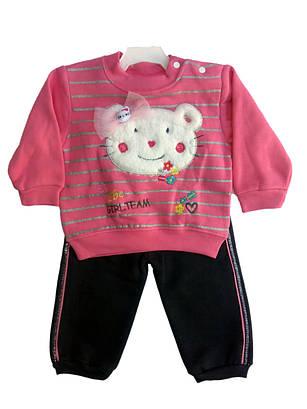 Костюм для девочки 1-3года Kitty розовый
