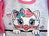 Костюм для девочки 1-3года Котенок розовый, фото 2
