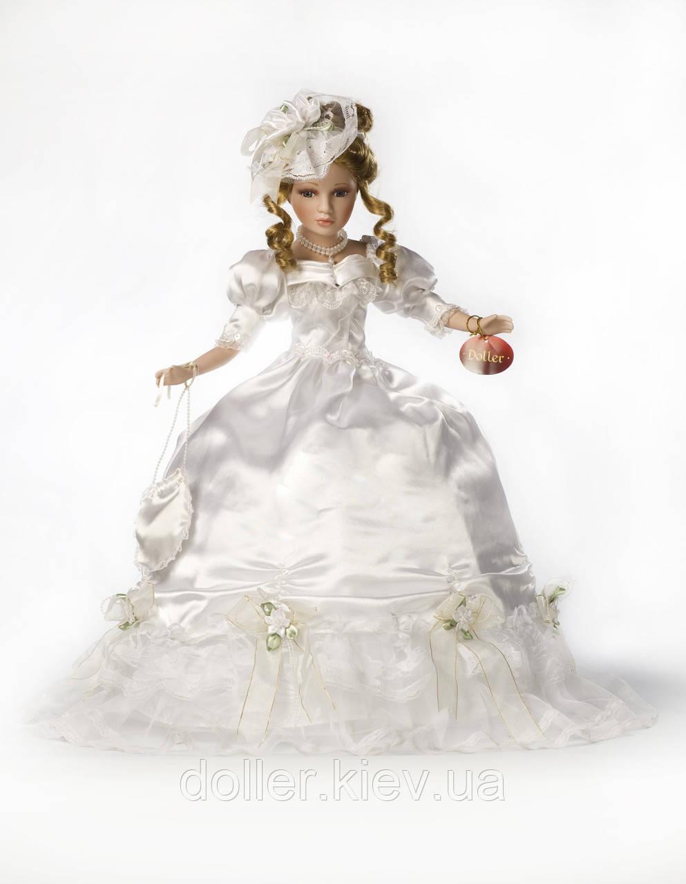 Свадебная кукла Адель (50 см.)