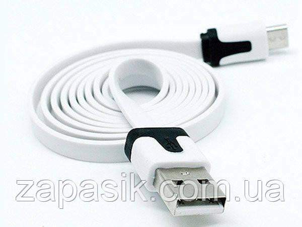 Кабель Шнур USB Micro USB Flat V 8 1 м