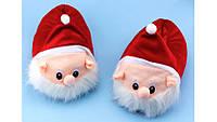 Тапочки Дед Мороз ( Санта Клаус/ Гном ) размер 38