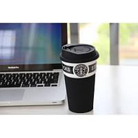 Чашка керамическая кружка Starbucks Black
