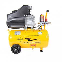 Компрессор пневматический Denzel 1,5 кВт, 24 л (206 л/мин)