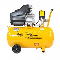 Компрессор пневматический Denzel 1,5 кВт, 50 л (206 л/мин)