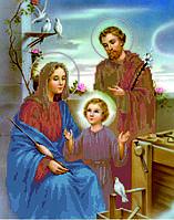 Схема для вышивки бисером Святая семья_Иосиф_Мария_Иисус КМР 3176