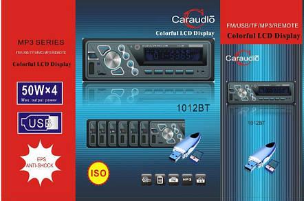 Автомагнитола Pioneer 1012BT 50W*4 с bluetooth/MP3/SD/USB/AUX, фото 2