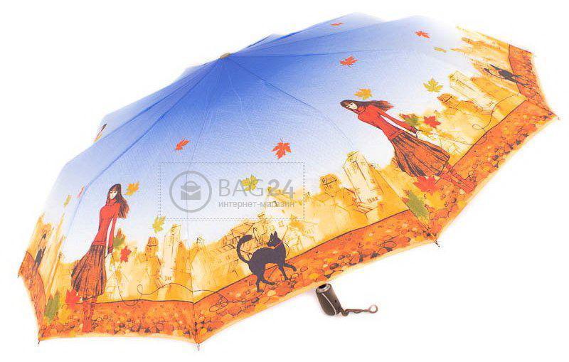 Летний зонтик для женщин, автматический ZEST Z239666-27, Голубой