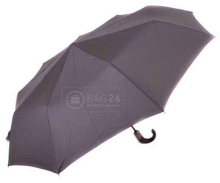Мужской зонт с большим куполом, автомат ZEST Z13990, Черный