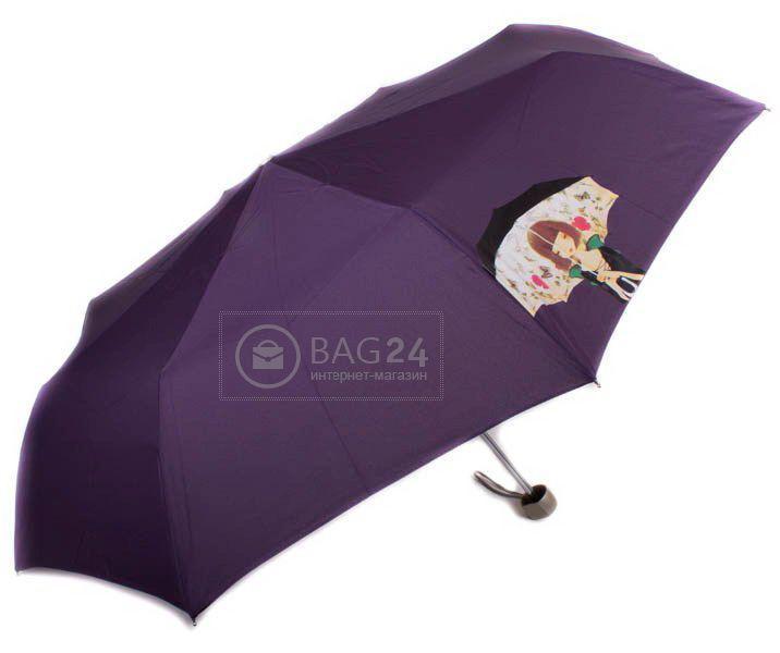 Механический женский зонт, компактный AIRTON Z3512-3, Фиолетовый