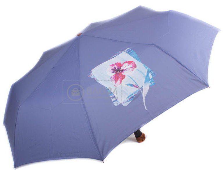 Светло-синий женский зонт, полуавтомат AIRTON Z3651-7, Голубой
