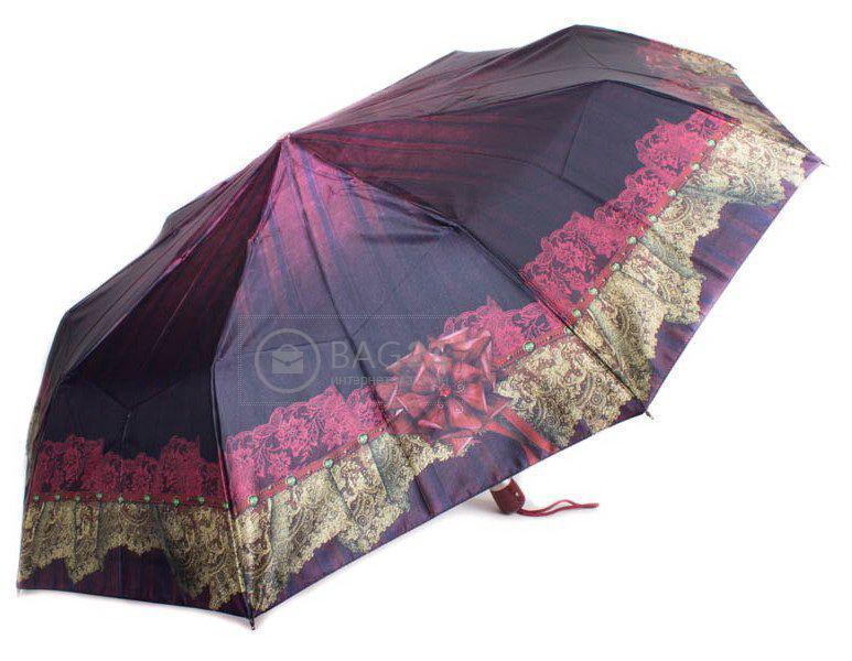 Автоматический женский зонтик AIRTON Z3944-7, Бордовый